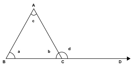 Solve For The Outside Angle