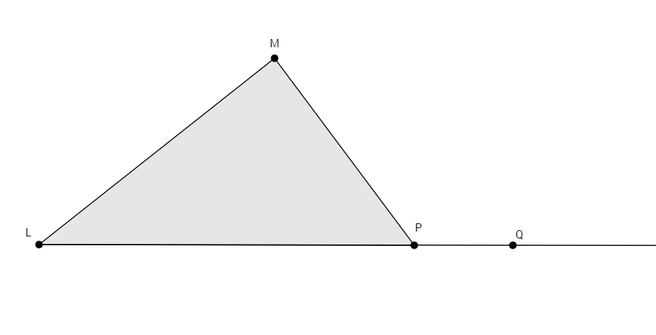Mastery Math: Geometry   Fill In The Proof About The Exterior Angle Theorem