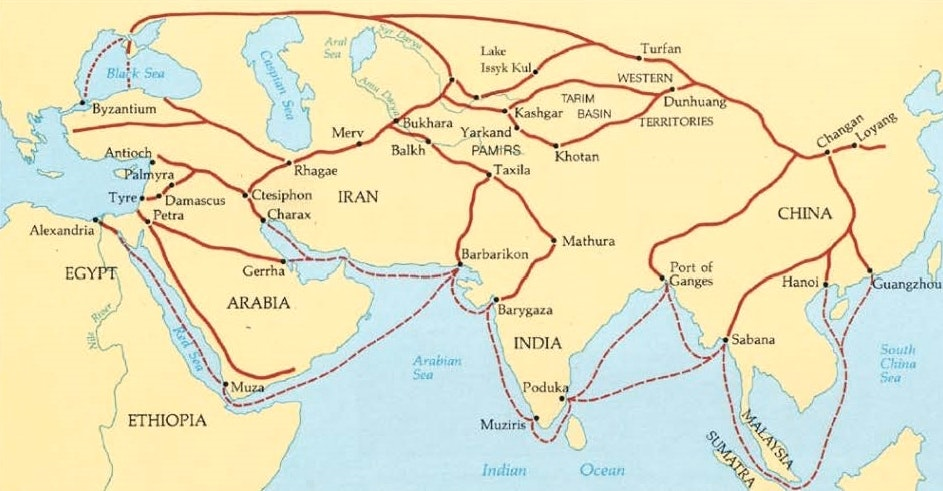 Ap world history economics of the mediterranean map digital image china tour guide web 8 aug 2016 gumiabroncs Gallery